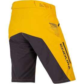 Endura SingleTrack II Shorts Heren, mustard